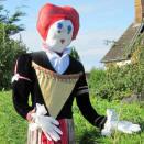 Scarecrow Festival in Wolferton Village
